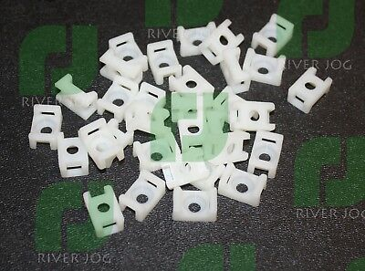 Base Mount Cable Wrap Ties #10 Bolt Down - LOT of 250