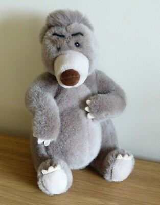 Vintage Walt Disney Co.  BALOO Soft Plush Bear in VGC