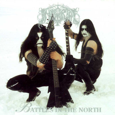 IMMORTAL - Battles in the North  LP  MARBLED  WHITE