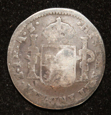 Mexico War of Independence Uniform Button from 1821 Z IR AZ 1 Real
