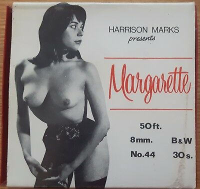 Vintage Glamour  B/w 8Mm 50Ft Cine Films Harrison Marks Margarette  No. 44