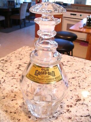 Vintage Old Grand Dad Empty Whiskey Liquor Decanter-Bicentennial 1976 Eagle