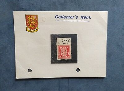 Jersey One Penny Mint Occupation Postage Stamp