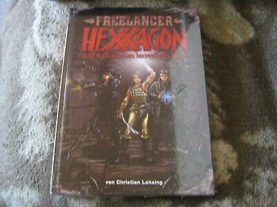 FREELANCER  Hexxagon  Köln Dungeon Monsterjäger  OVP  Hardcover  NEU