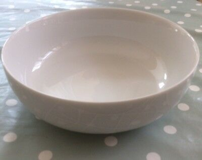 Jamie Oliver Queens White On White Soup/cereal Bowl