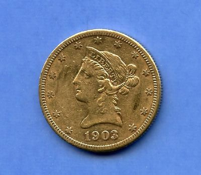USA 10 Dollars 1903 Gold