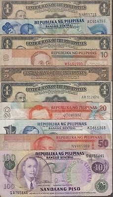 10 Banknotes from the Philippines