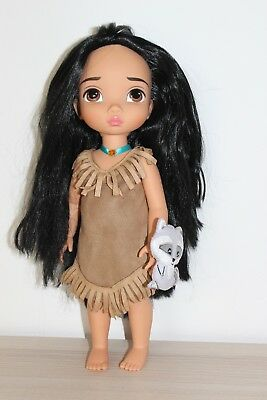 Disney Store Pocahontas Animators Collection Puppe Doll