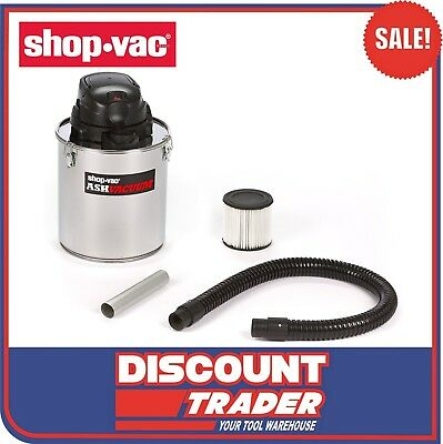 ShopVac Ash Vacuum Cleaner 20L 850W Pick Up of Cold Ash with HEPA Filter 4041151