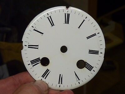 Good Old French Clock  Enamel Dial (Wd)