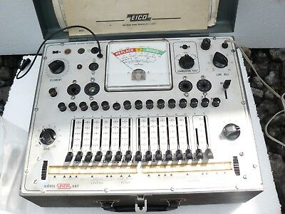 Eico Model 667 Dynamic Conductance Vacuum Tube and Transistor Tester