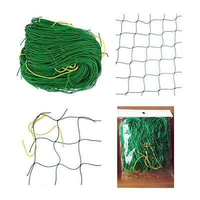 Nylon Trellis Netting Garden Green Support Climbing Bean Plant Nets Grow Fence G