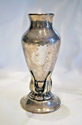 Sterling Silver Art Nouveau Antique Vase Beautiful Small Sterling Piece