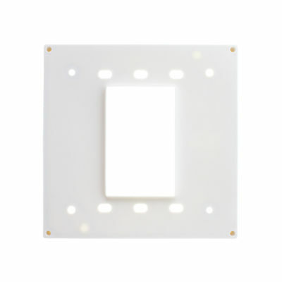 Leviton 03254-W Four-In-One Extra Heavy-Duty Adapter Plate For 1254 Or 21254