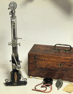 Antique vtg c1915 Shore SCLEROSCOPE Metal Hardness Testing Device in BOX as-is