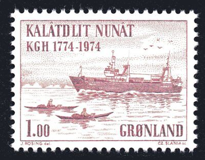 Greenland 1974 Department of Trade set of 2 Mint Unhinged