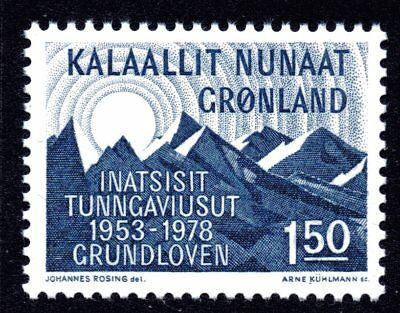Greenland 1978 1.50 Krone Constitution Mint Unhinged