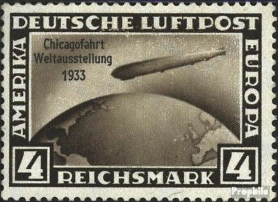 German Empire 498 with hinge 1933 Count Zeppelin