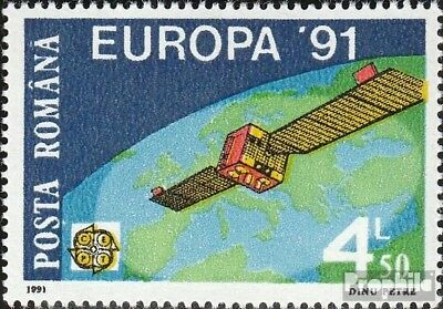 Romania 4653 mint never hinged mnh 1991 Space