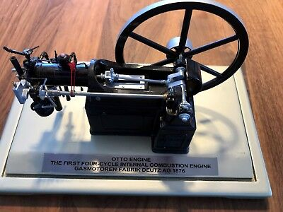 Nicolaus August Otto Engine -First four-cycle- Deutz AG 1876 in Cologne - Modell