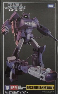 "Transformers ""KO Version"" Masterpiece MP-29 Shockwave G1 Destron Laserwave neu"