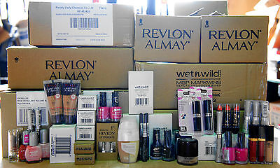 100 Wholesale Joblot Makeup Items New Revlon Foundation Bari Make Up Cosmetics