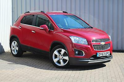 Chevrolet Trax 1.6 ( 115ps ) ( s/s ) 2013MY LT ONLY 17,000 MILES
