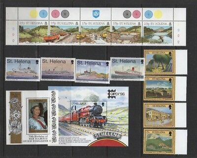 St. Helena Stamps & Mini-Sheets Unmounted Mint