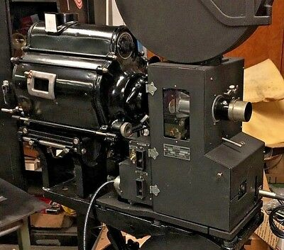 Holmes Carbon Arc  35mm Sound Motion Picture Projector Museum Quality