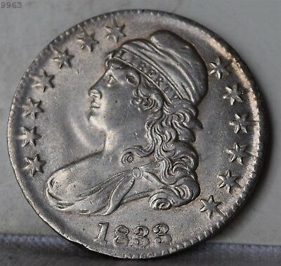 """1833 Capped Bust Half Dollar """"AU"""" *Free S/H After 1st Item*"""