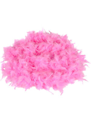 "Deluxe Large Pink 72"" Costume Accessory Feather Boa"