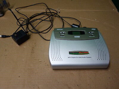 On-Hold Plus 6000 MP3 Digital Flash Memory Audio System 64MB w/ Power