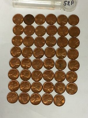 Lot of 1952P 1952 P Lincoln wheat wheat penny cent coins 49 you grade