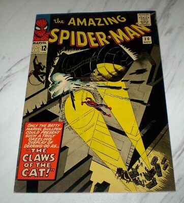 Amazing Spider-man #30 VF 8.0 OW pages Unrestored 1965 Marvel Silver Age