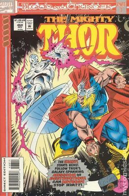 Thor (1st Series Journey Into Mystery) #468 1993 FN Stock Image