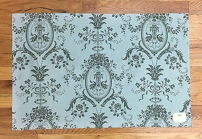 Charming  Antique 19th C. French Neoclassic Toile Cotton Printed Fabric (8844)