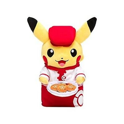 New Pokemon Cafe Limited Plush Doll waitress Pikachu Center Cute Kawaii TOKYO DX