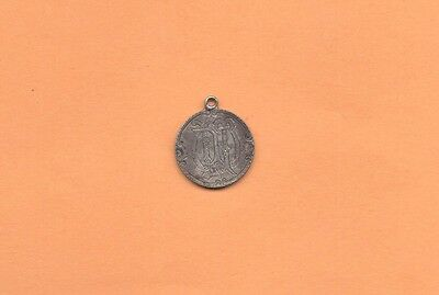 OLD 1883 LOVE TOKEN CHARM Engraved LMT LTM MTL Silver Liberty Seated Dime Coin