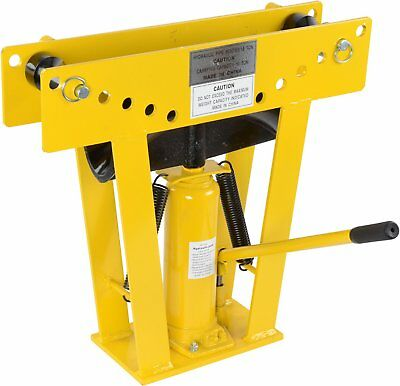 JEGS Performance Products 81522 16 Ton Hydraulic Pipe Bender Includes Eight Dies