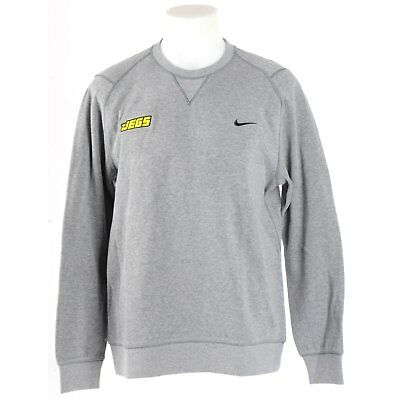 JEGS 726526091-S Nike Range Sweater Gray Small
