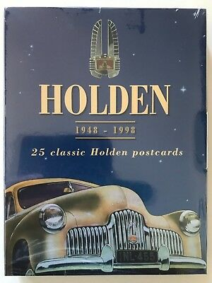 Holden - 25 Classic Holden Postcards - 50Th Anniversary - Unopened