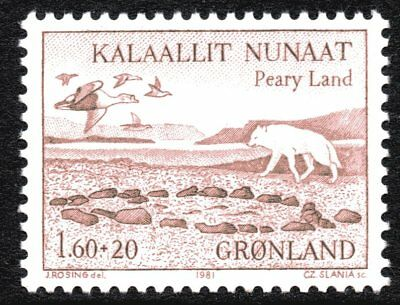 Greenland 1981 Peary Land Expeditions Mint Unhinged