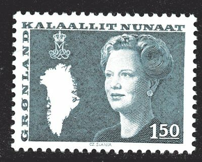Greenland 1982 150 Ore Queen Margrethe II Mint Unhinged