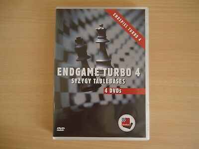 ENDGAME TURBO 4. SYZYGY TABLEBASES. Chessbase. Schach. TOP! Endspiel Turbo