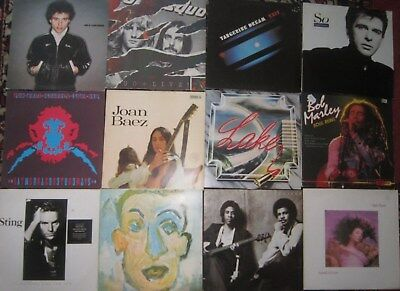 Rock - Pop - Sammlung - 24 Vinyls - Deep Purple, Tangerine Dream, Pink Floyd,