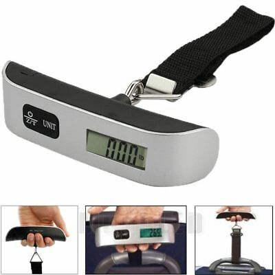 Portable 50kg/10g LCD Digital Luggage Scale Fish Hanging Weight Electronic Hook