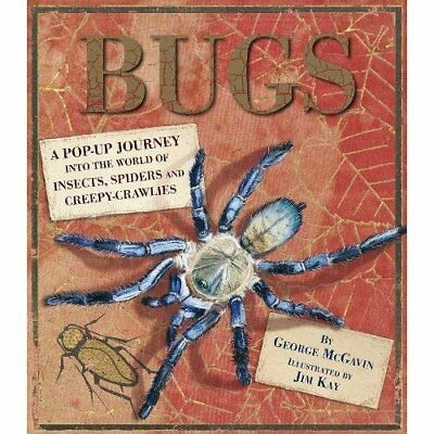 Bugs: A Pop-up Journey into the World of Insects, Spide - Hardcover NEW Dr Georg
