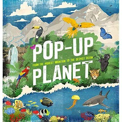 Pop-Up Planet - Hardcover NEW Camilla de la B 8 Sept. 2016