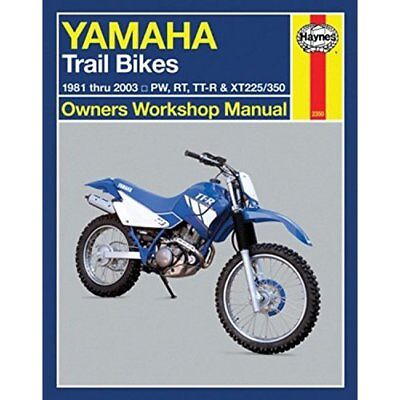 Yamaha Trail Bikes Automotive Repair Manual: 1981-03 (H - Paperback NEW Stubblef