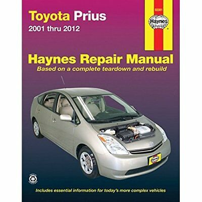 Toyota Prius Automotive Repair Manual: 2001-12 (Haynes  - Paperback NEW Editors